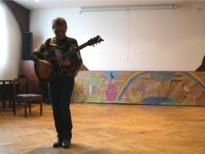 Koncert Dagmar Voňkové v bývalé kapli KNL (2013), ilustrační foto